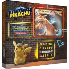 Pokemon Detective Pikachu - Charizard GX Case File - Pokemon Sealed