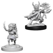 Dungeons & Dragons Halfling Fighter Figure - DND Mini