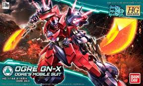 HG Gundam Ogre GN-X Ogre's Mobile Suit - Model Kit