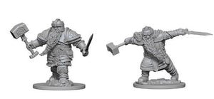 Dungeons & Dragons Dwarf Fighter Figure - DND Mini