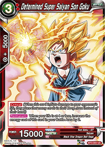Determined Super Saiyan Son Goku - BT3-005 FOIL VERSION