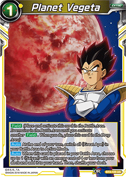 Planet Vegeta - BT3-105 FOIL VERSION