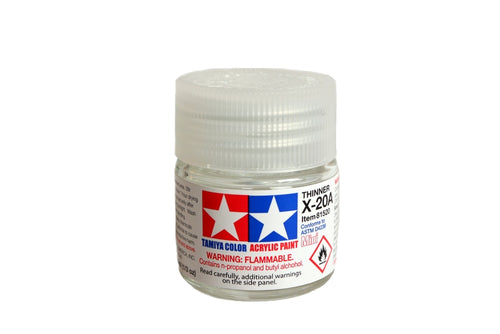 Paint Tamiya X20A Acrylic Thinner Acrylic (1/3 oz)