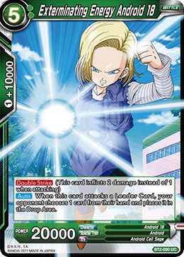 Exterminating Android 18 - BT2-090