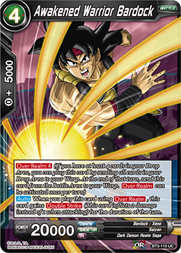 Awakened Warrior Bardock - BT3-110