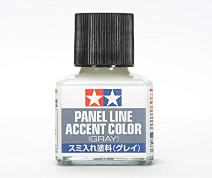 Paint Tamiya Panel Line Accent Color Grey 40ml