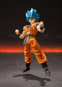 S.H. Figuarts Dragon Ball Super Saiyan God Blue (Broly Movie) Goku Figure