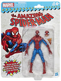 Marvel Legends Retro Card Back Pizza Spider-Man Figure