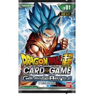 Dragon Ball Super Galactic Battle Booster Pack - DBS Sealed
