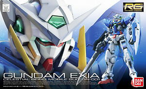 RG Gundam Exia Celestial Being Mobile Suit GN-001 - Model Kit