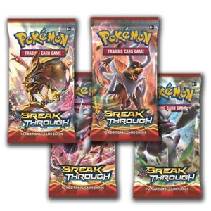 Pokemon Sealed Break Through Booster Pack