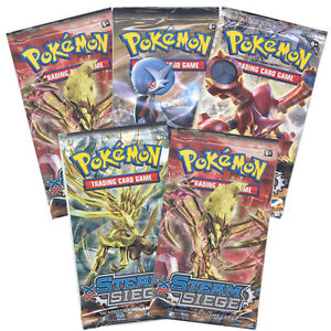 Pokemon Sealed Steam Siege Booster Pack