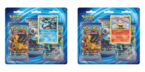 Pokemon Sealed Evolutions 3 pack