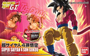 Dragon Ball Figure Rise Model Kit Super Saiyan 4 Goku