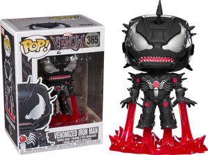 Funko Pop Figure - Venom/Iron Man