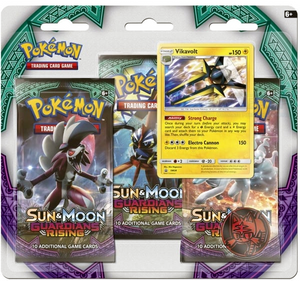 Pokemon Sealed Vikavolt 3 pack