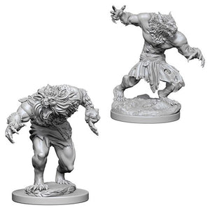 Dungeons & Dragons Mini Werewolves Figure - DND Mini
