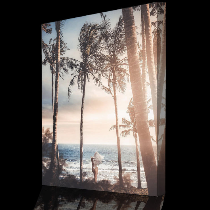 Prints für Büro & Home-Office TROPICAL ISLAND von DotComCanvas