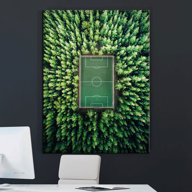 Prints für Büro & Home-Office TENNIS COURT von DotComCanvas