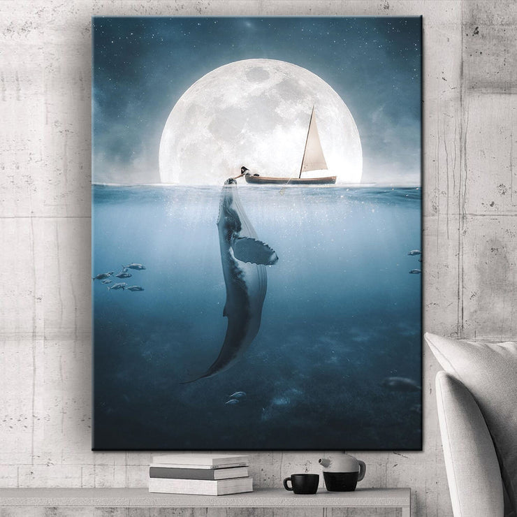 Prints für Büro & Home-Office DEEP OCEAN von DotComCanvas