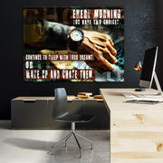 Wandbild für Büro & Home-Office YOU HAVE TWO CHOICES von DotComCanvas