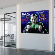 Wandbild für Büro & Home-Office WELCOME TO THE 1% CLUB von DotComCanvas