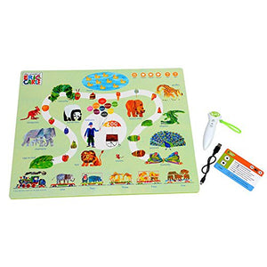 The Very Hungry Caterpillar Interactive Learning Mats with Voice Pen