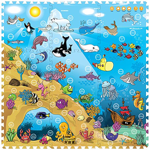Interactive Playmat i-Mat™: Under The Sea (9pcs)