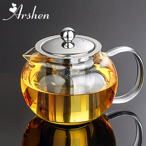 Arshen Heat Resistant Glass Tea Pot