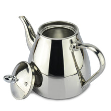 Stainless steel Tea pot with strainer by SANQIA