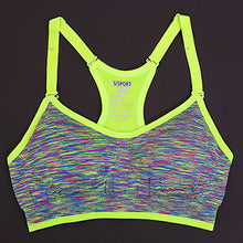 Adjustable Spaghetti Straps Padded Seamless Top For Fitness and Yoga