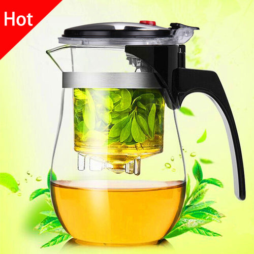High quality Heat Resistant Glass Teapot