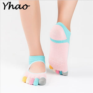 New Colorful Anti-skid Professional Yoga Socks