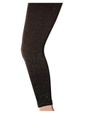 Country Kids and Jefferies Girls Sparkly Footless Ankle Tights Metallic for Ages 1-14 Years