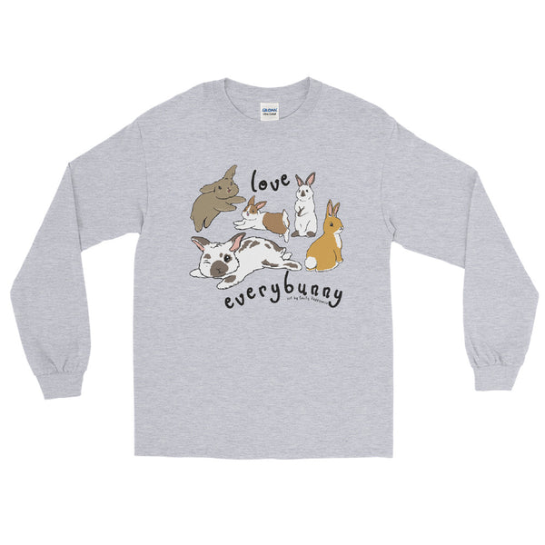 Everybunny is Different. Just Love Everybunny long sleeve tee
