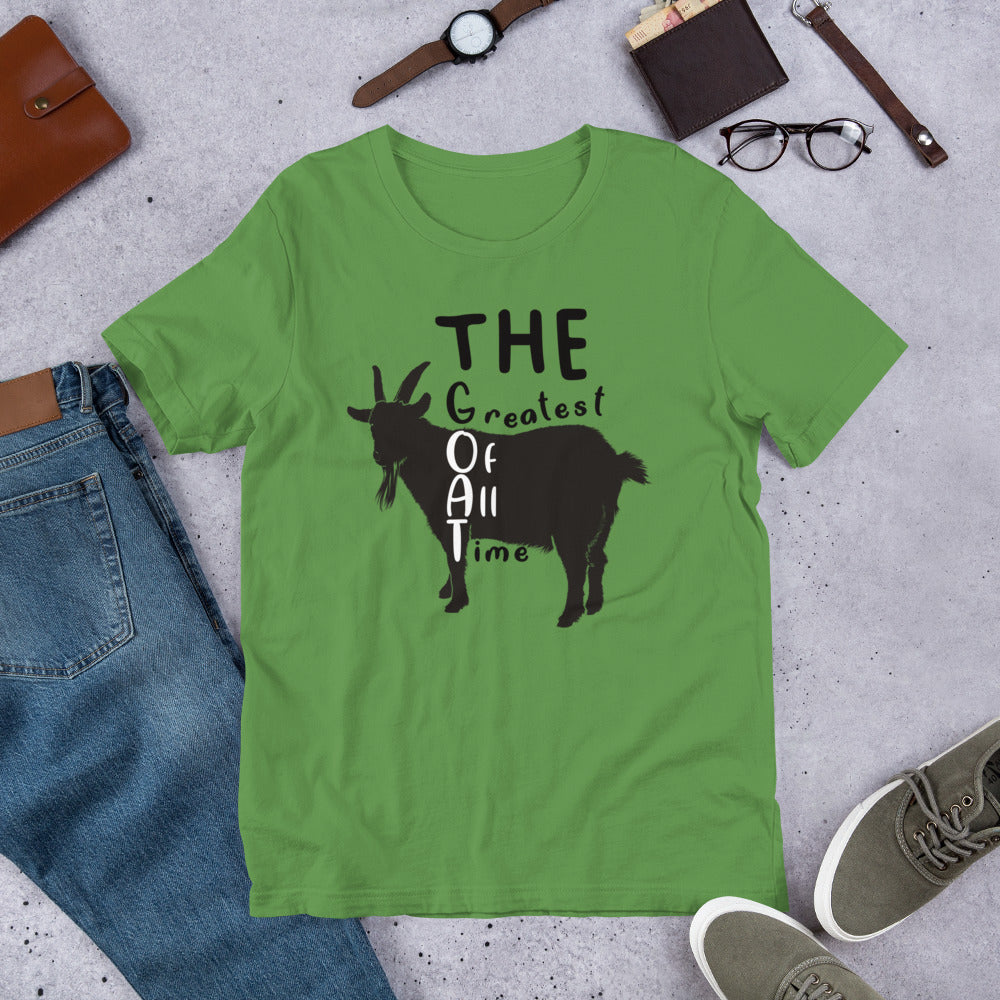 Greatest Of All Time GOAT t-shirt