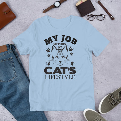 My Cat's Lifestyle t-shirt