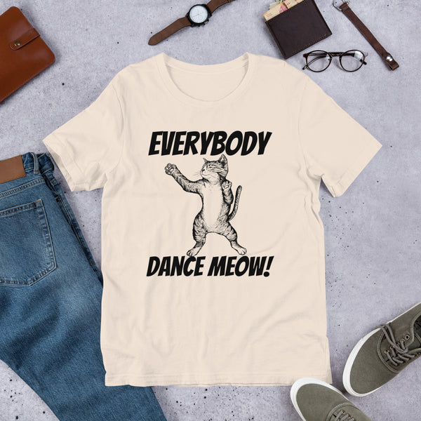 Everyody Dance Meow! Cat t-shirt