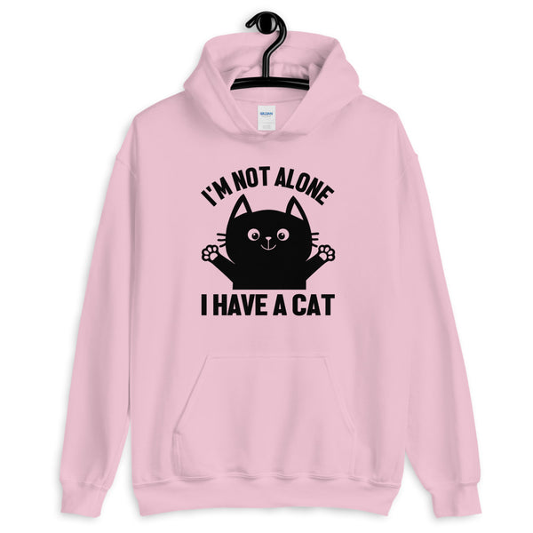 I'm Not Alone! Cat hoodie