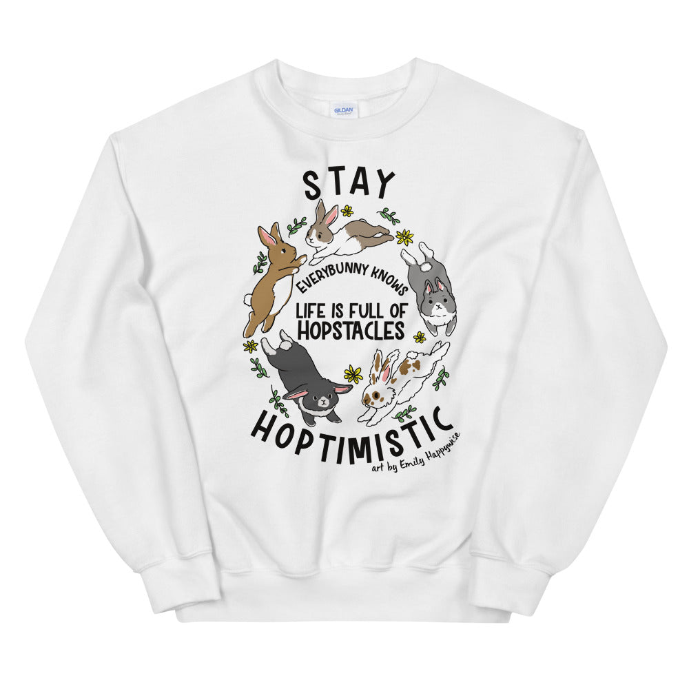 Stay Hoptimistic sweatshirt