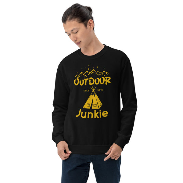 Outdoor Junkie long sleeve tee