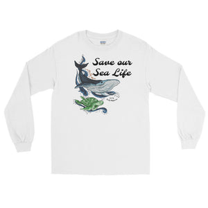 Save our Sea Life long sleeve tee
