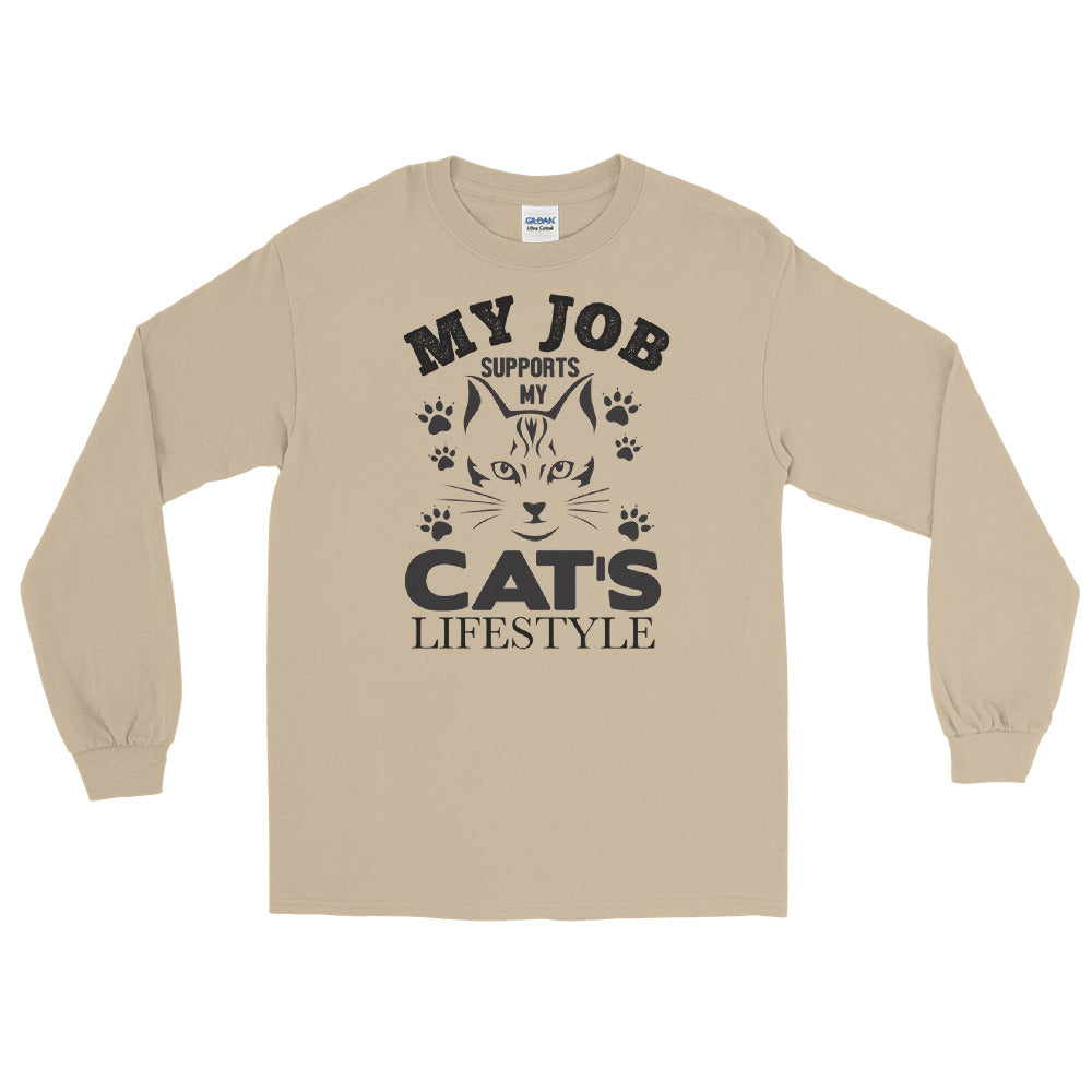 My Cat's Lifestyle long sleeve tee
