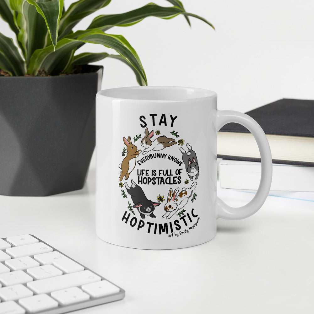 Stay Hoptimisic Mug