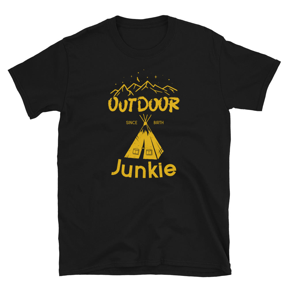 Outdoor Junkie t-shirt