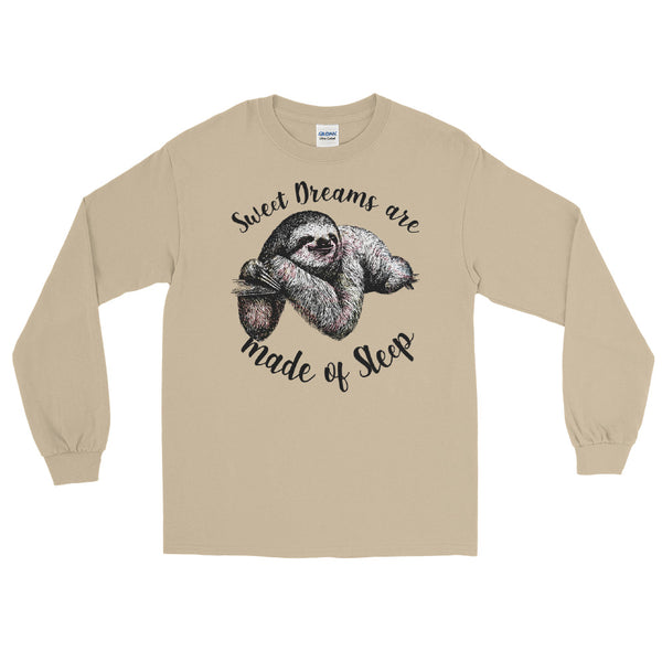 Sweet Dreams are made of Sleep-Sloth long sleeve tee