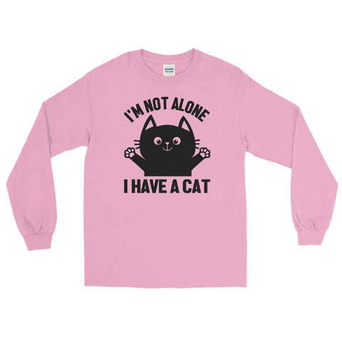 I'm Not Alone! Cat long sleeve tee