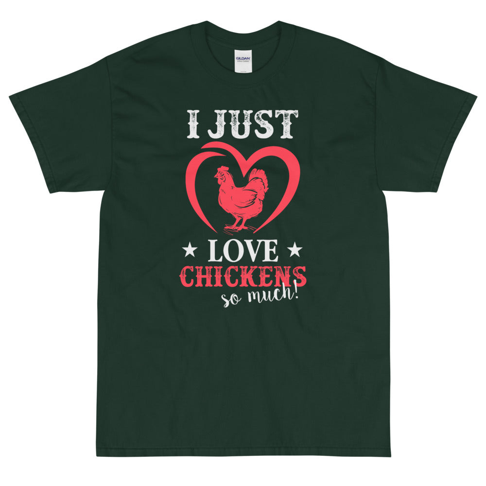Just LOVE Chickens t-shirt