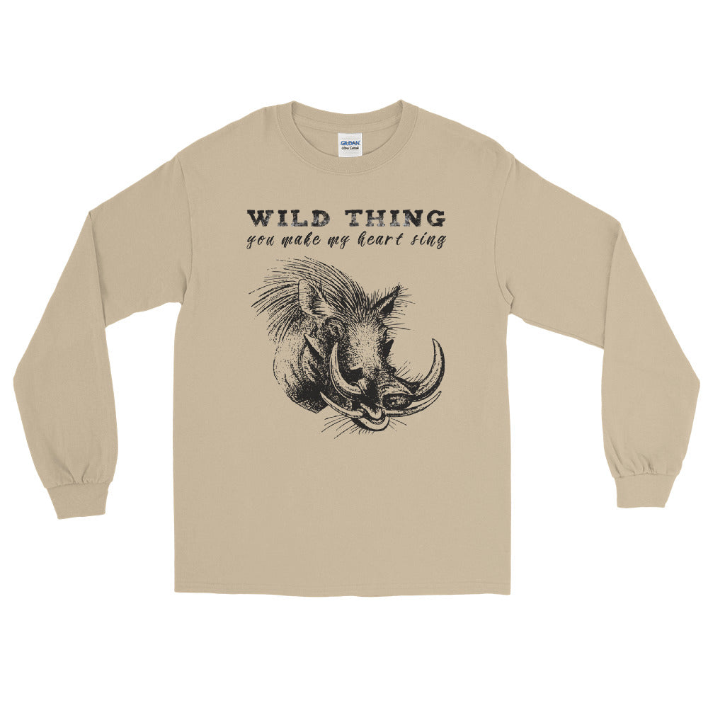 Wild Thing War Tog long sleeve tee
