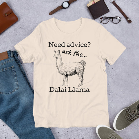Ask the Dalai Llama t-shirt